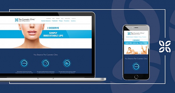 The Cosmetic Clinic Website Redesign